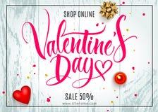 Valentine-dag van letters voorziende achtergrond royalty-vrije illustratie