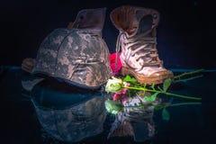 Valentine-dag voor soldeersel en leger Royalty-vrije Stock Foto's