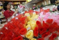 Valentine-dagbloem Stock Foto's