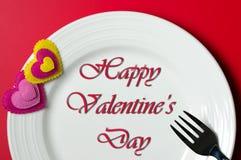 Valentine-dagdiner royalty-vrije stock afbeeldingen