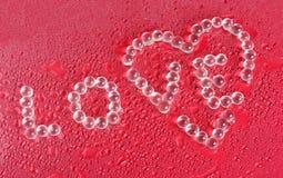 Valentine-daggroet Royalty-vrije Stock Foto