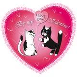 Valentine-dagvector Stock Afbeeldingen