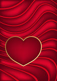 Valentine Dark Background Illustration Libre de Droits