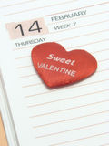 Valentine Date Stock Photography