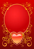 Valentine Day. Valentines greeting card, vector illustration royalty free illustration