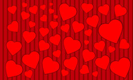 Valentine Day-achtergrond Royalty-vrije Stock Afbeelding