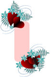 Valentine day background. Abstract vector illustration for design Royalty Free Stock Photos