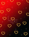 Valentine day background Royalty Free Stock Photo