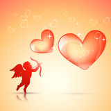 Valentine day background Stock Images