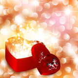 Valentine day background Stock Photography