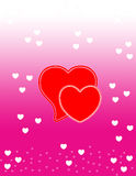 Valentine day background Royalty Free Stock Photos