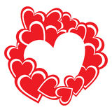 Valentine Day Background Images stock