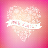 Valentine day background. Royalty Free Stock Photos