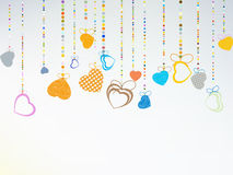 Valentine day background. EPS 8 Royalty Free Stock Images