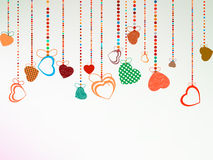 Valentine day background. EPS 8 Royalty Free Stock Photos