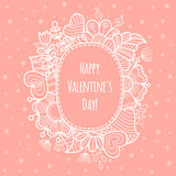 Valentine Day background. Royalty Free Stock Photo