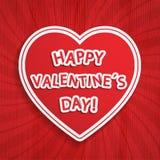 Valentine Day background Stock Image