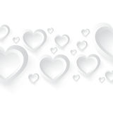Valentine day background.  illustration Royalty Free Stock Images