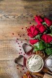 Valentine day baking background