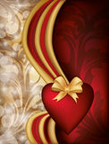Valentine day banner Stock Images