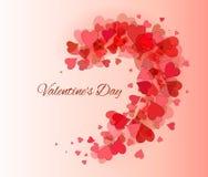 Valentine Day, beautiful background Stock Image