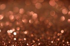 Valentine Day Brown Glitter för nytt år för jul bakgrund Tyg för ferieabstrakt begrepptextur Beståndsdel exponering royaltyfri foto