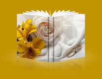 Valentine Day-Buch Stockfotografie