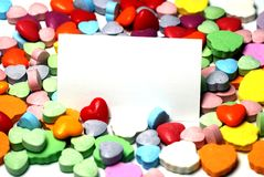 Valentine Day Candy Heart Image libre de droits