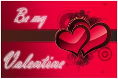 Valentine day card royalty free stock photo