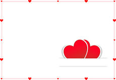 Valentine Day Card Stock Image