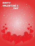 Valentine Day card Stock Photo
