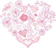 Valentine day card. Background beauty Stock Photos