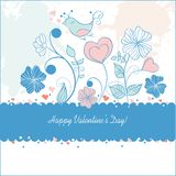 Valentine day card. Background beauty Royalty Free Stock Photo