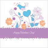 Valentine day card. Background beauty Royalty Free Stock Image