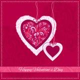 Valentine Day Card Fotografia Stock Libera da Diritti