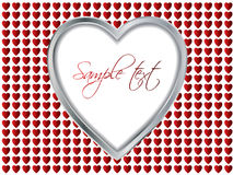 Valentine day card 4 Royalty Free Stock Photos