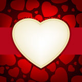 Valentine day card. EPS 8 Stock Photos