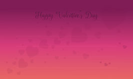 Valentine Day card with love backgrounds Stock Image