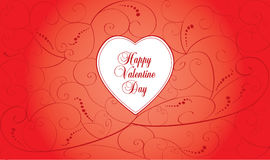 Valentine day card Royalty Free Stock Photos