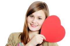 Valentine day card Royalty Free Stock Photos