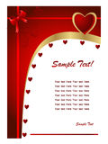 Valentine day card2 Royalty Free Stock Images