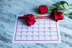 Valentine Day. Celebrating romance together Stock Images