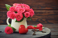 Valentine day concept Stock Images