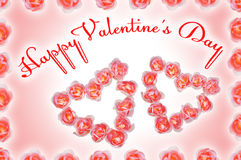 Valentine Day congratulation Royalty Free Stock Photography