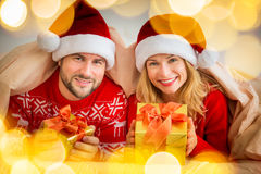 Valentine Day Couple Holiday Winter Royalty Free Stock Photos