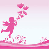 Valentine_Day_Cupid Stock Photography