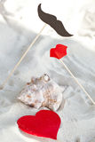 Valentine day decoration Stock Images