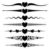 Valentine day design element Stock Image