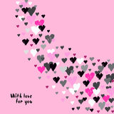 Valentine day design Royalty Free Stock Images