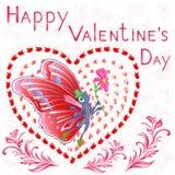 Valentine Day feliz Fotografía de archivo